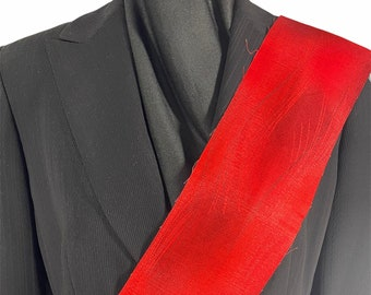 Red Deacon Clergy Stole