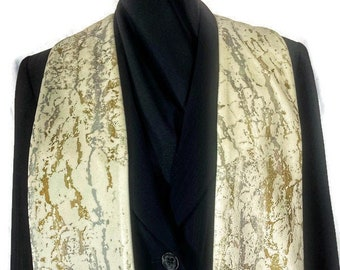 Gold and Silver Clergy Stole