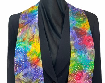 Colorful clergy stole