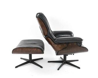 Miraculous Mcm Ottoman Etsy Creativecarmelina Interior Chair Design Creativecarmelinacom