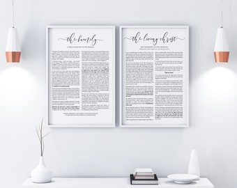 The Family Proclamation And Living Christ Combo Prints