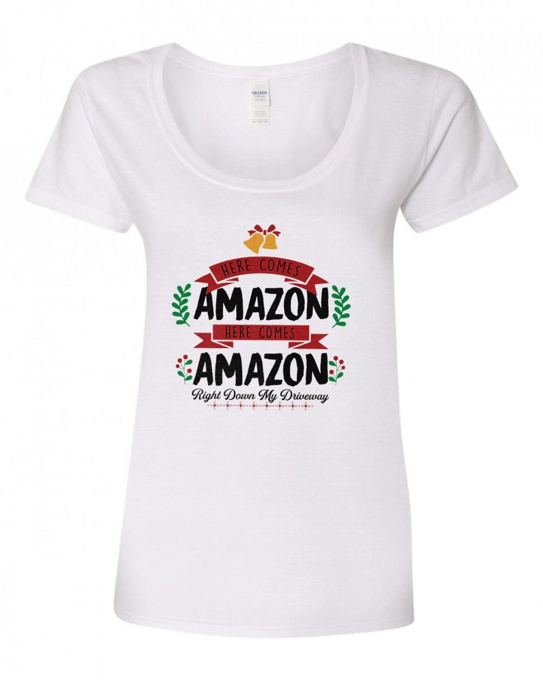 Here comes Amazon Here comes amazon  right down my driveway  image 0