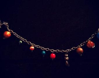 Solar system bracelet- Dangle