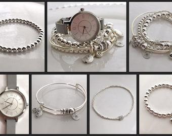 Watch Bracelet Set Etsy