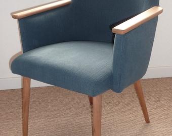 Restored vintage 60s armchair