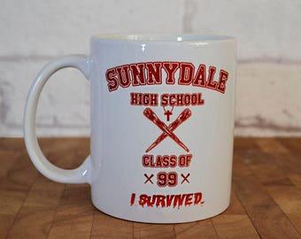 Buffy the Vampire Slayer Mug, Sunnydale, Buffy Mug