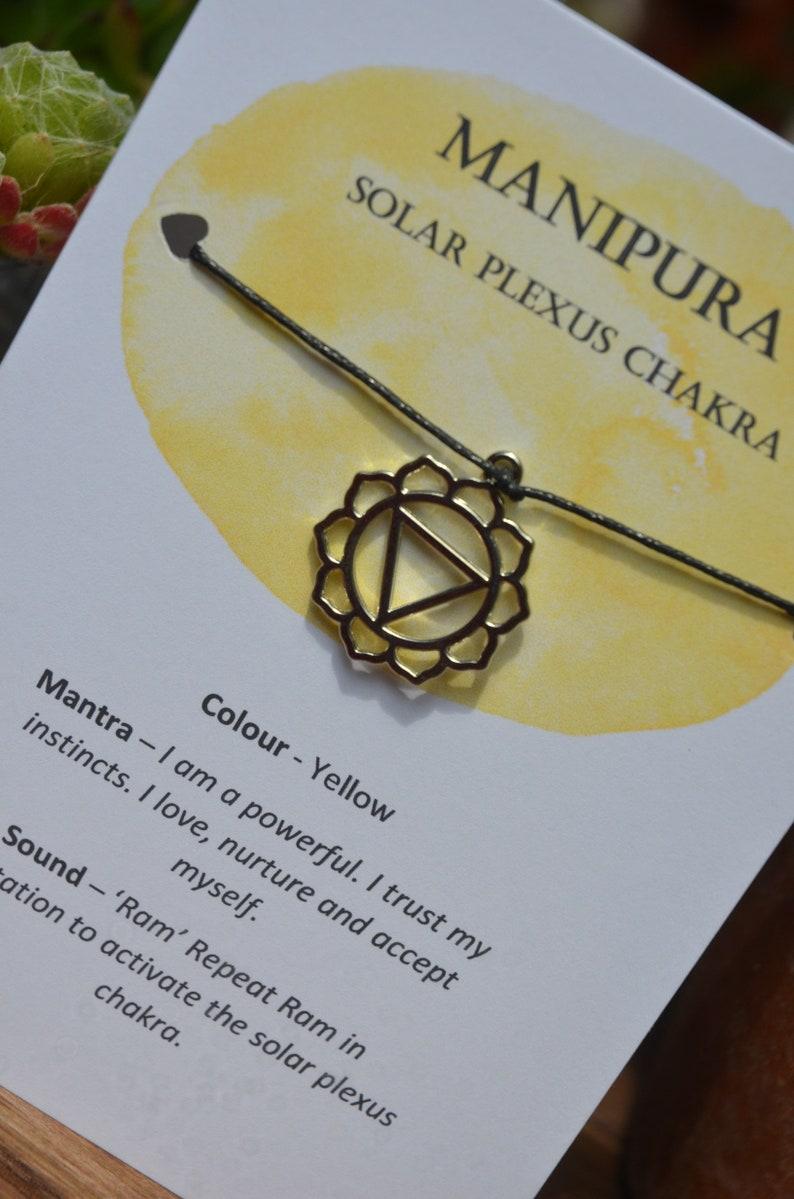 Chakra Charm Bracelet Set Chakra Cards Chakra Charms