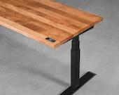 Sit-stand desk - Birch