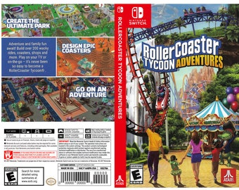 Rollercoaster tycoon | Etsy