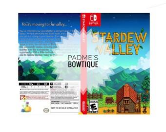 Custom Nintendo Switch Art Cover w/ Game Case - Stardew Valley