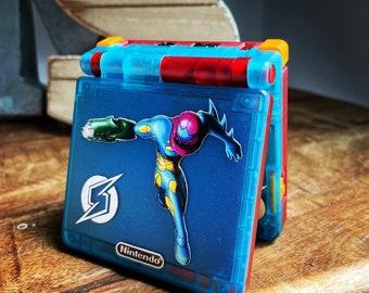 Custom Metroid Fusion Gba Sp