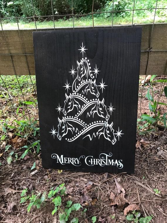 Santa croire Noël Personnalisé Suspendu Shabby /& Chic Signe Plaque