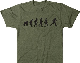 495b48b15a2 Evolution Of A Soccer Player Men's Tri-blend T-Shirt