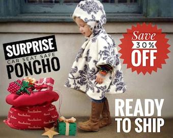 Car Seat PonchoHooded CapeCarseat HoodReversibleCarseat BlanketMade to Order