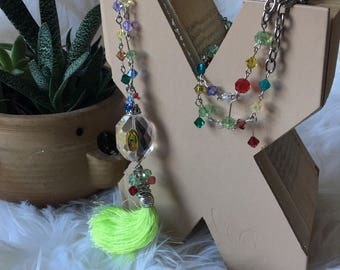 Guadalupe Tassel Necklace