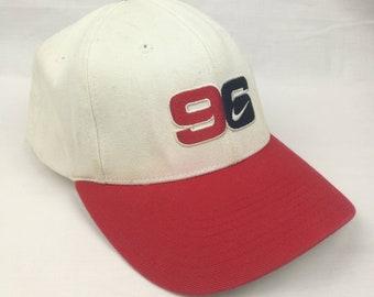 vintage 90s nike just do it big swoosh logo snapback cap baseball hat 278c4ea1bb96
