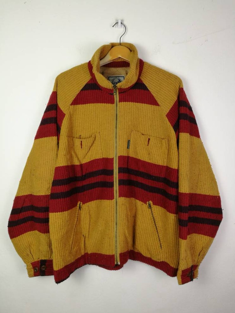 114bc200520e RARE VINTAGE nigel cabourn england jacket army gym pullover