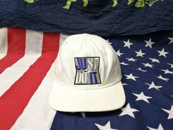 vintage nike swoosh just do it snapback cap hat  e05296bb078