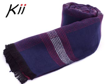 Luxurious Mens Scarf * Gift for Him * Winter Scarf * Man Scarf * Xmas Gift for him * Husband Gift Scarf * Boyfriend Gift