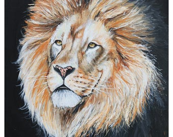 Limited Edition Lion Print