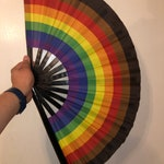 Our CUSTOM More Color More Pride Fan- very limited quantities!