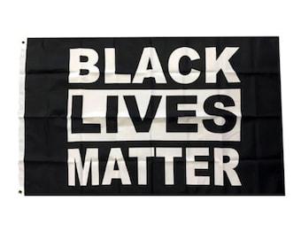 Black Lives Matter Flag 3x5ft