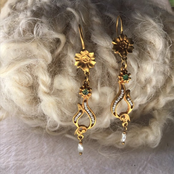 Chandelier Earrings 18 Karat