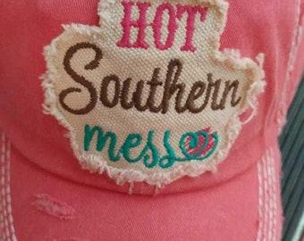 Hot Southern Mess Trucker Hat