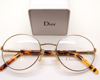 cb56483cd76 Gold Classic Style CHRISTIAN DIOR VINTAGE Glasses Frames - never worn!