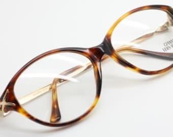 4abd06ae3945 Stunning Vintage VERSACE V41 Classic Turtle Effect Designer Cat Eye Design  Spectacles