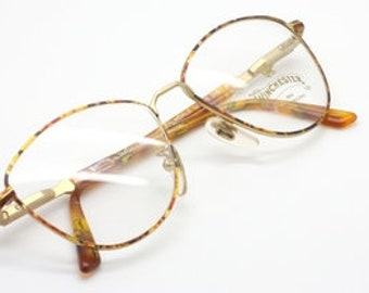 64f6e85d3ff9 Winchester Palmdale Vintage Gold And Tortoisehsell Metal Large Eye Frame
