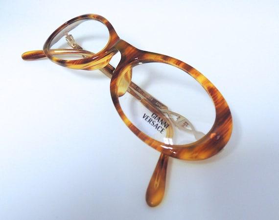 VERSACE Designer V32 Vintage Acrylic Designer Glas