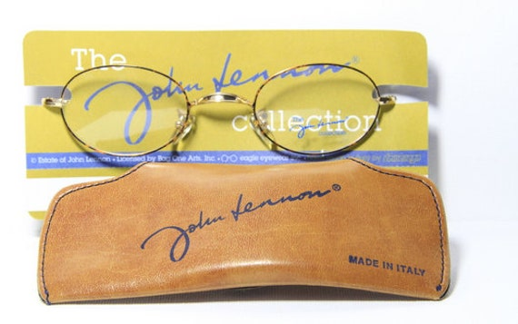 The John Lennon Collection Glasses 'LOVE' Oval Eye