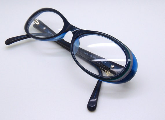 8acb0725113 Gianni Versace V23 Green Blue Oval Acrylic Frame