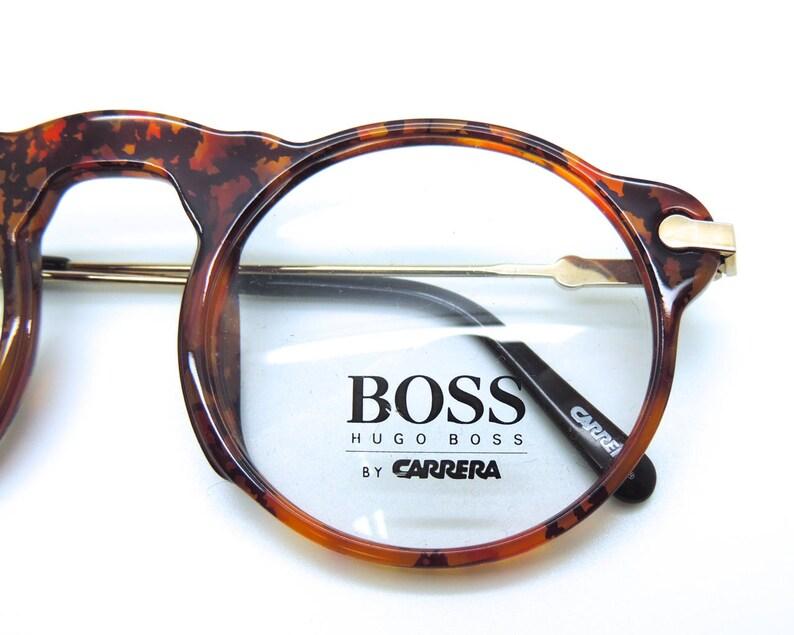 70885e4e275f Hugo BOSS by Carrera 5108 True Round Vintage Glasses Frames In image 0 ...