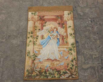 Vintage French Angel Beautiful Tapestry 0528