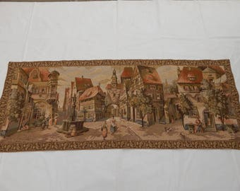 Vintage French Beautiful  Tapestry (214)