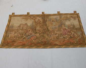 Vintage French Romantic Beautiful Tapestry 009
