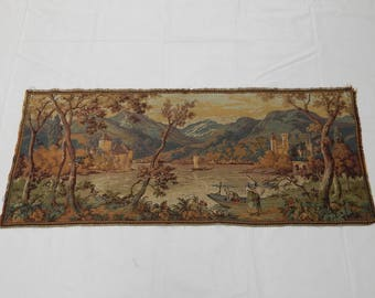 Vintage French Beautiful  Tapestry (215)