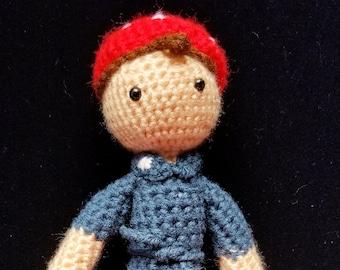 Rosie the Riveter Doll