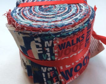 Dog themed jelly roll