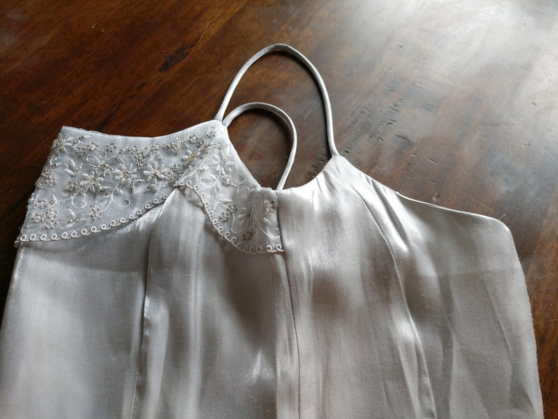 size 5 Jessica McCklintock Gunne Sax Vintage Formal Spaghetti Strap Dress