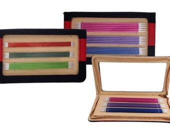 KnitPro Zing Set DPNs / doble puntas de agujas que hacen punto de aluminio 15cm, 20cm