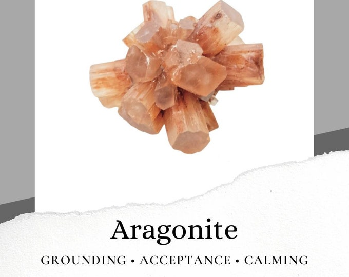 Aragonite Crystal Stone Cluster