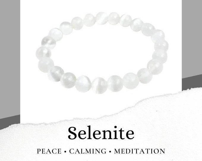 Selenite Bracelet