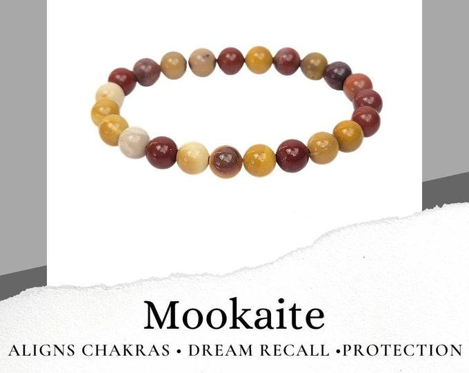 Mookaite, aka Australian Jasper, Bracelet