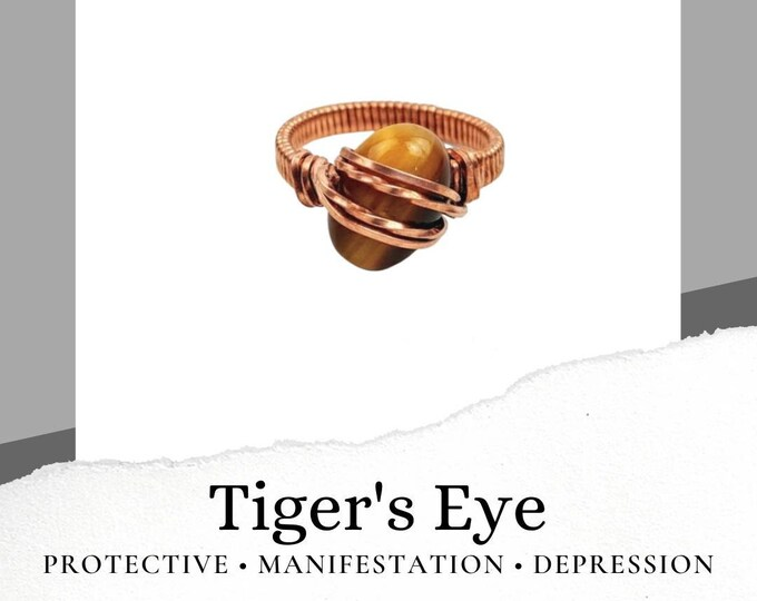 Tiger's Eye Ring