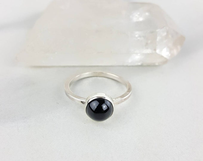 Black Onyx Sterling Silver .925 Ring