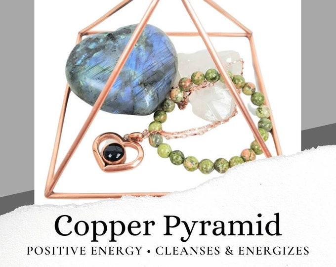 "5"" Copper Pyramid"