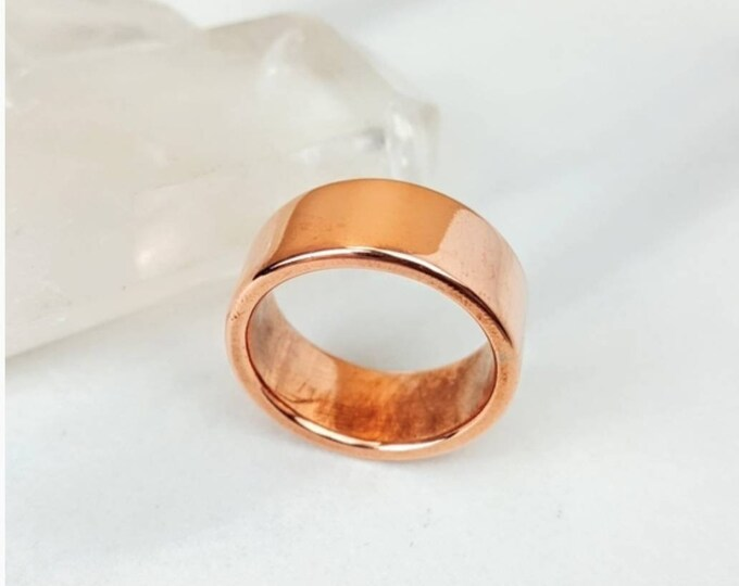 Copper Men Ring